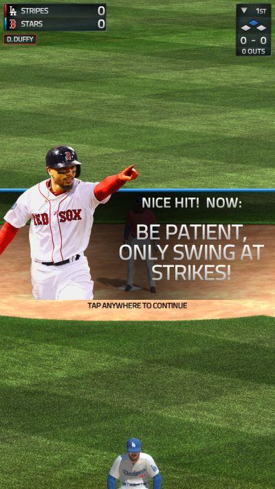 mlb tap sports baseball 2019 swing