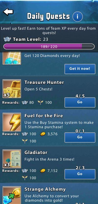 portal quest rewards