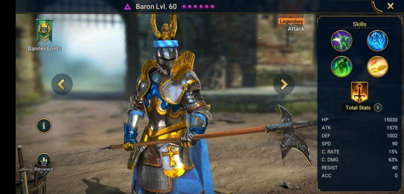 raid shadow legends baron