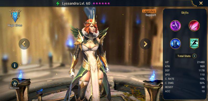 raid shadow legends legendary quality team