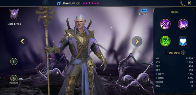 raid shadow legends rare quality team
