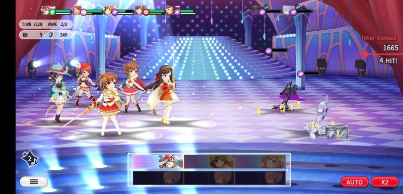 revue starlight re live team