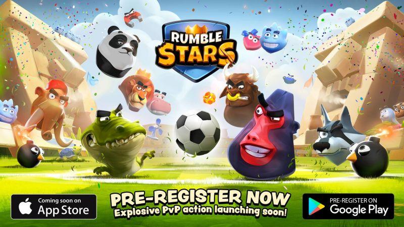 rumble stars soccer pre-registration