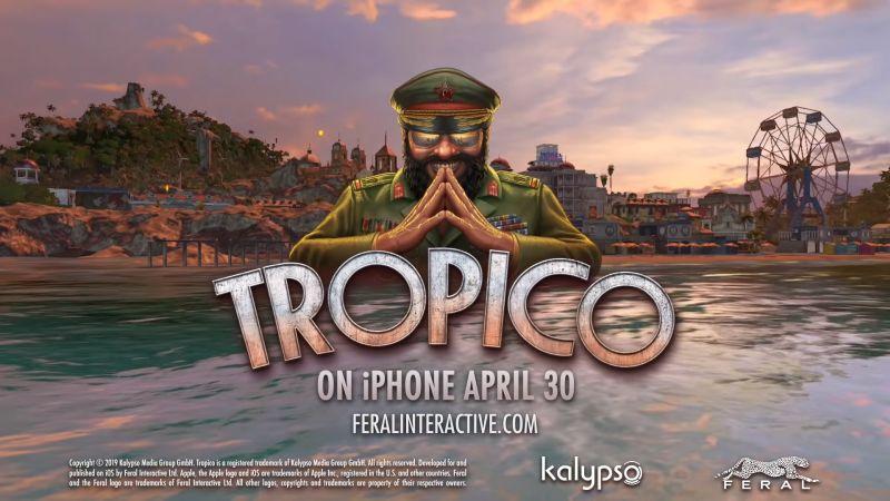 tropico iphone release