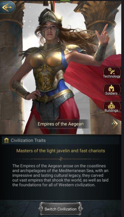 war eternal civilizations