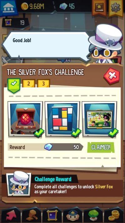 art inc silver fox challenge