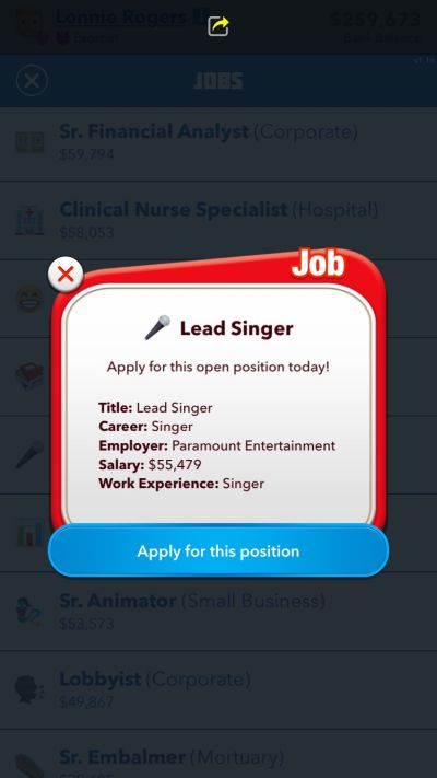 how to become a singer in bitlife