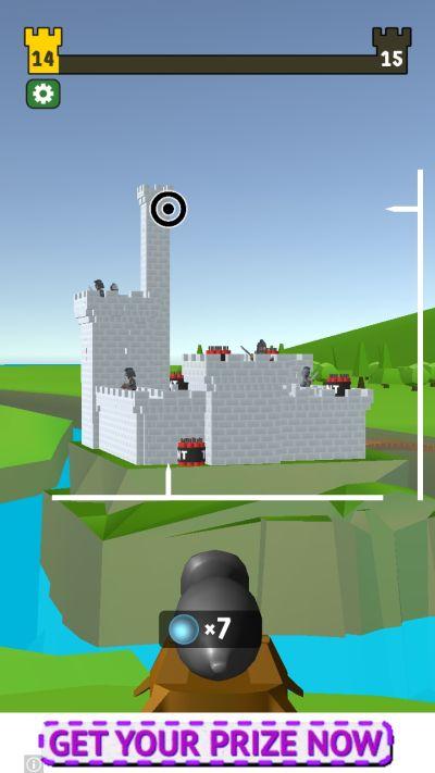 castle wreck vertical axis