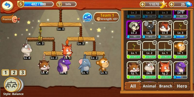critter clash team formation