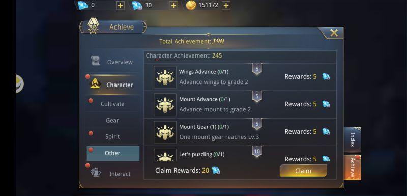 dark domain achievements