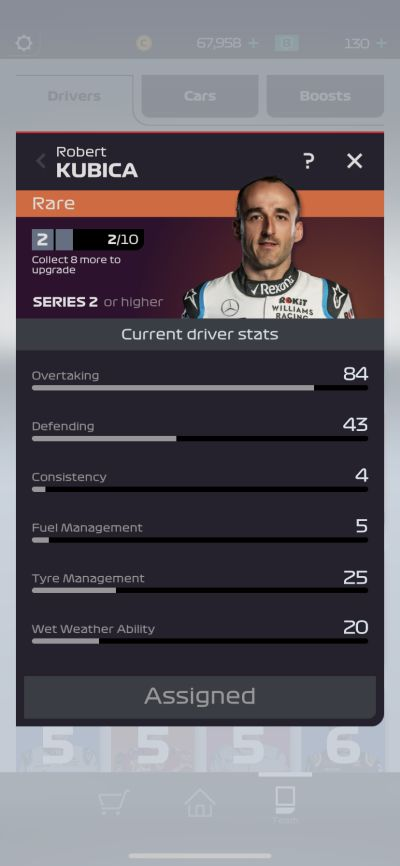 f1 manager driver stats