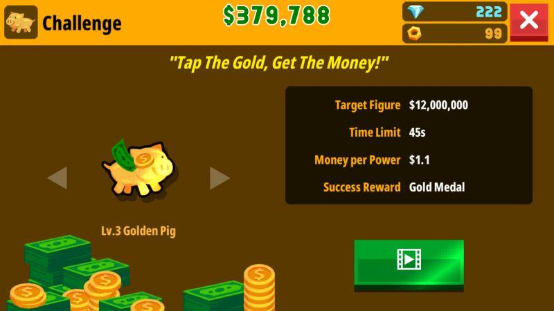 factory inc golden pig challenge
