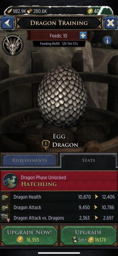 game of thrones conquest dragon training