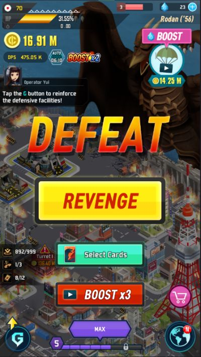 godzilla defense force kaiju fights