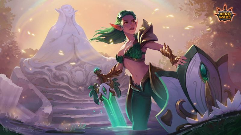 hero wars aurora