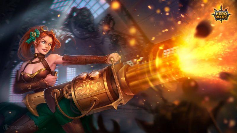 hero wars ginger