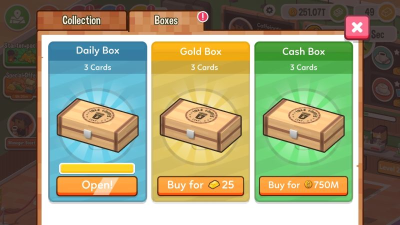 how to use boosters in idle coffee corp