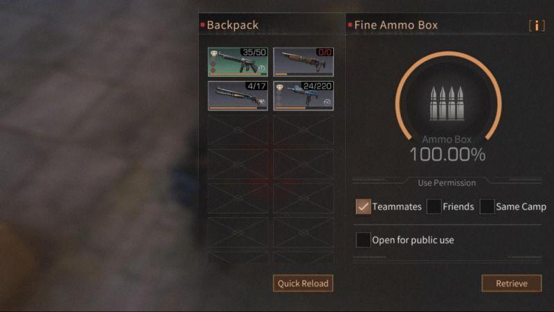 lifeafter ammo box