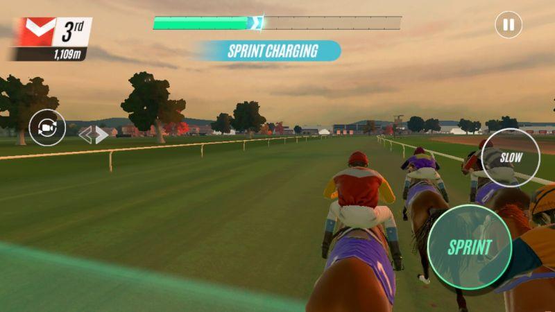 rival stars horse racing sprint