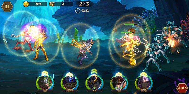 saint seiya galaxy spirits battle tips