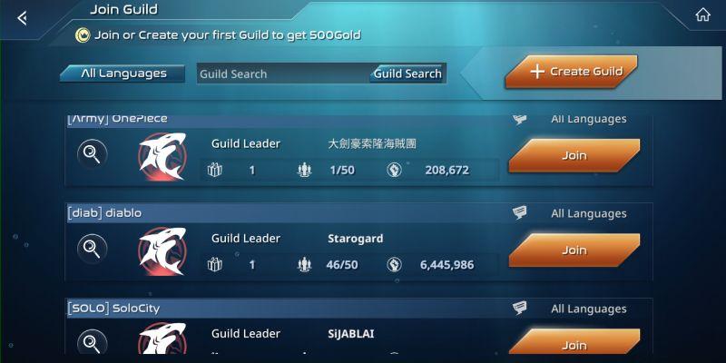 sea fortress guild
