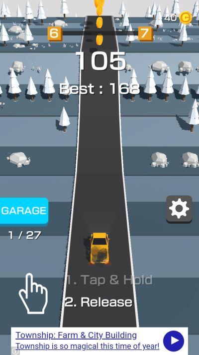 traffic run high score