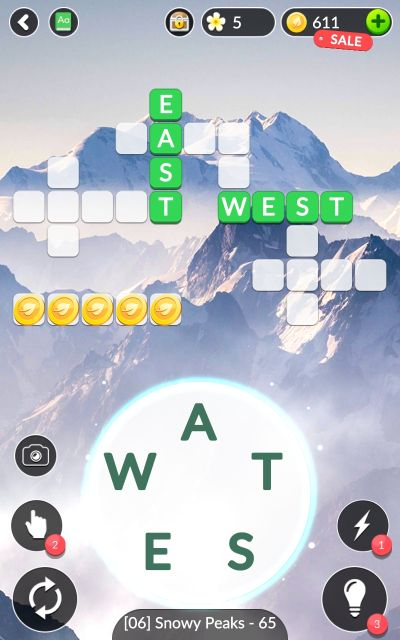 word life snowy peaks answers