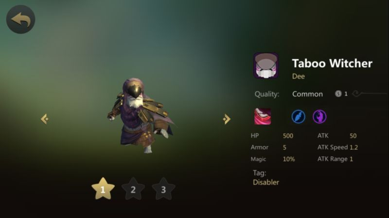 auto chess taboo witcher