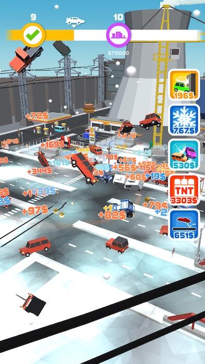 car crash! cheats