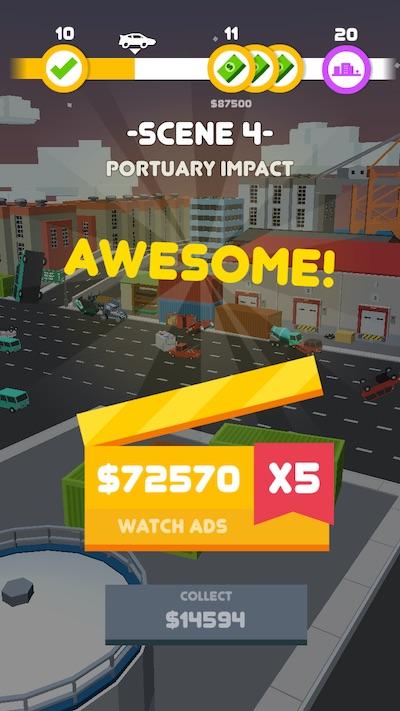 car crash! earnings