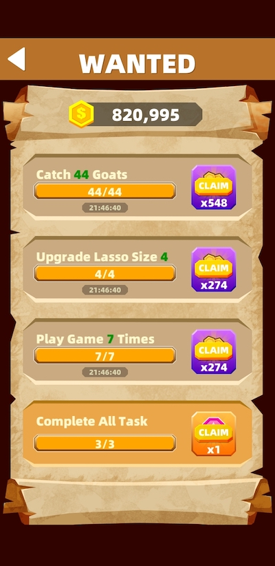 how to get more rewards in cowboy!