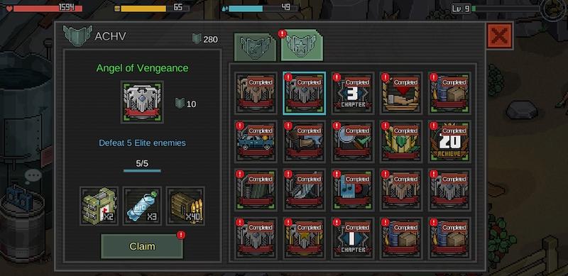 fury survivor pixel z rewards