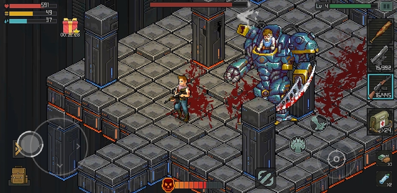 fury survivor pixel z weapons