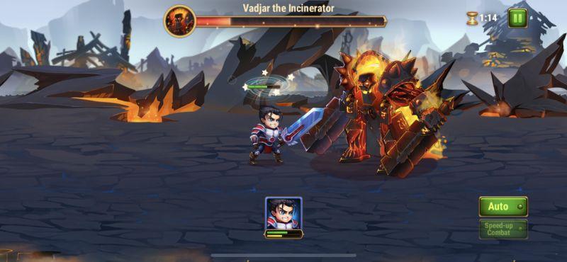 hero wars boss battle