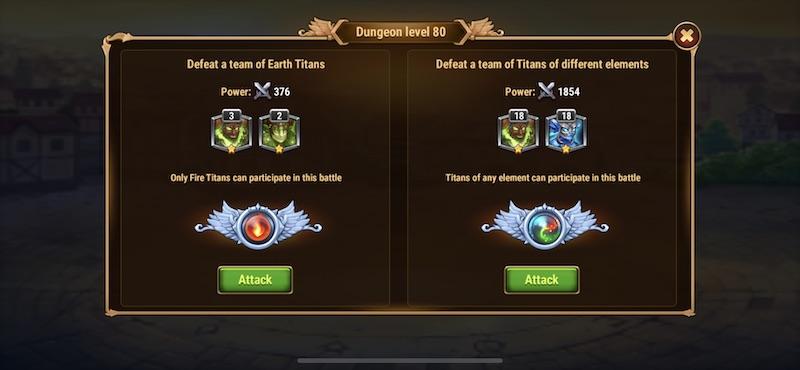 hero wars dungeon mode