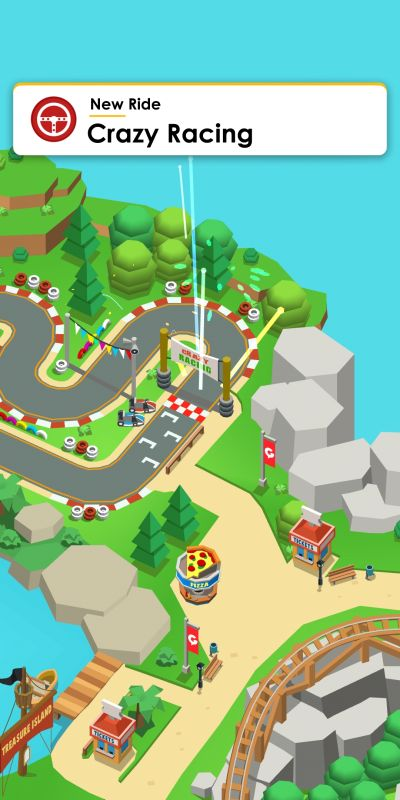 idle theme park tycoon new ride