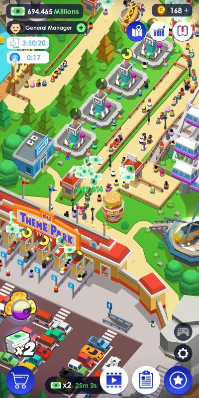 idle theme park tycoon tips
