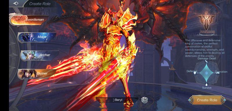mu origin 2 swordsman class