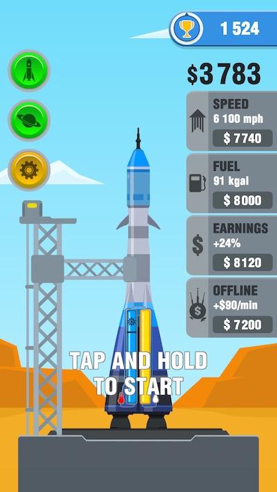 rocket sky! upgrades