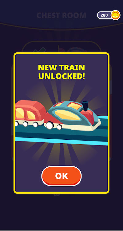 how to unlock new trains in train taxi