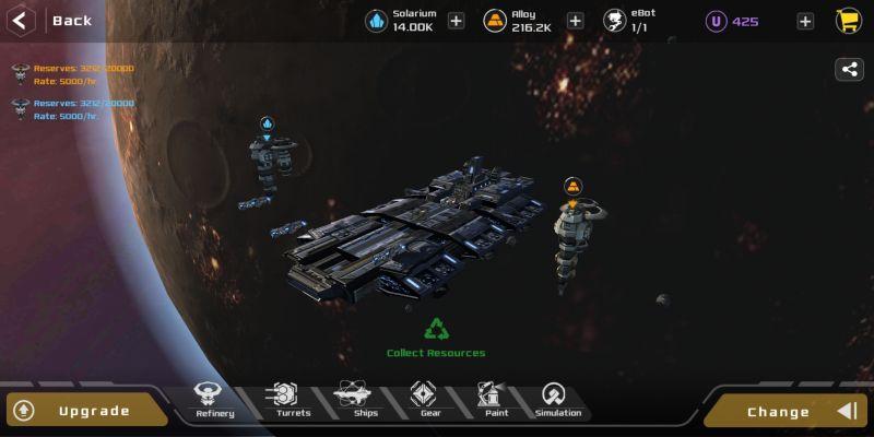 aeon wars galactic conquest colony ship