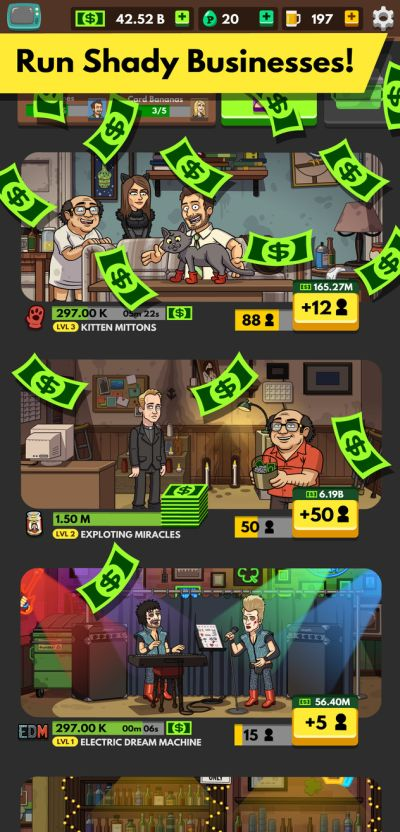 always sunny gang goes mobile cheats