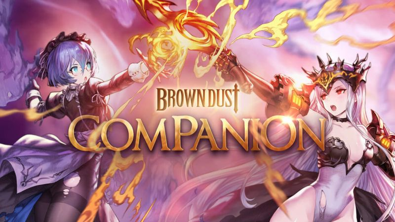 brown dust companion update