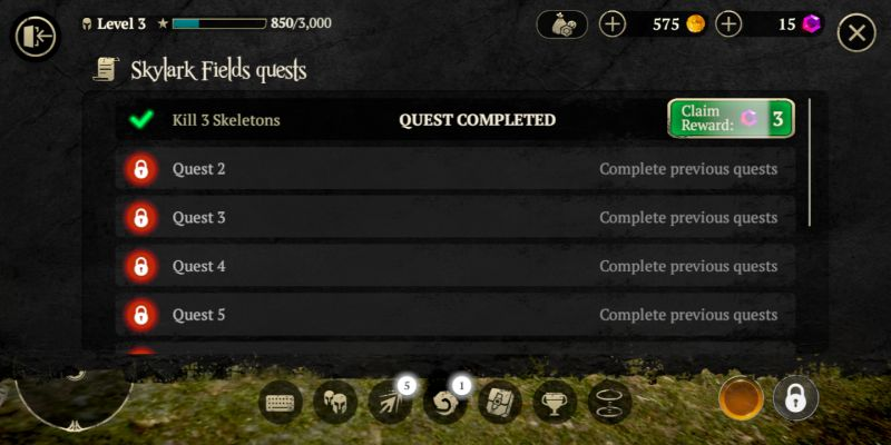 evil lands quests