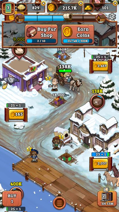 idle frontier tap town tycoon tips