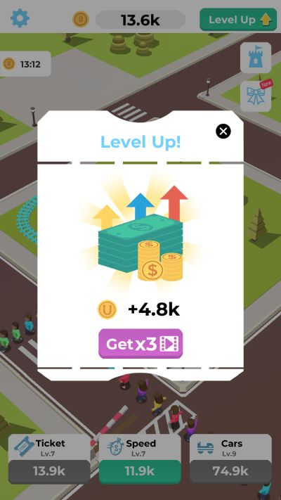 how to level up fast in idle roller coaster