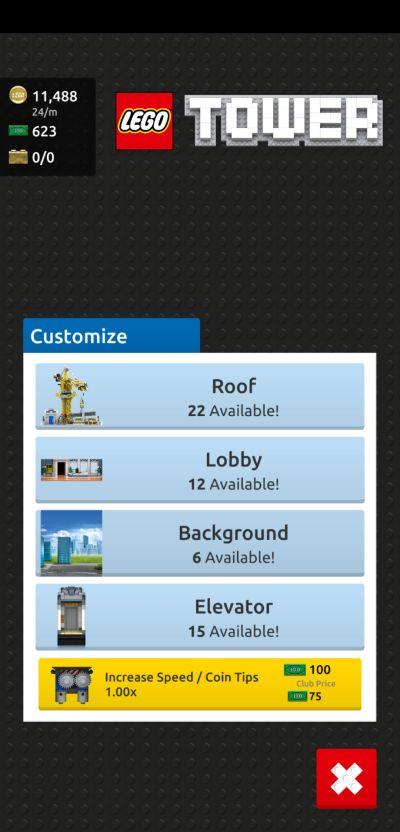 lego tower elevator