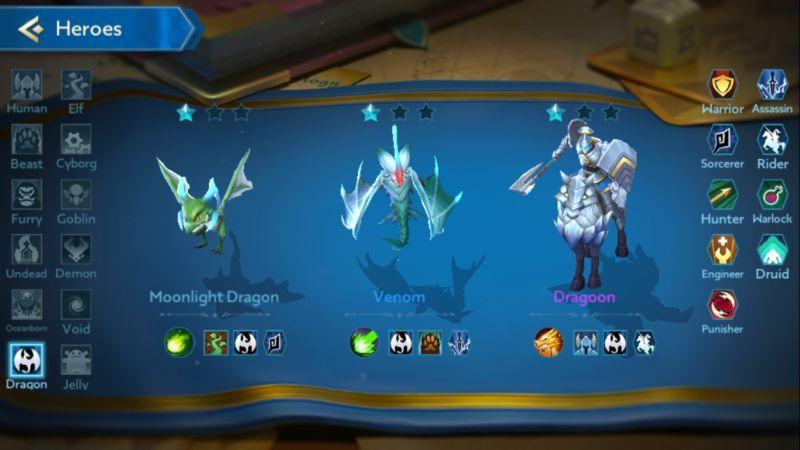 moonlight dragon chess rush