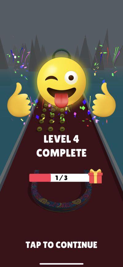 picker 3d level complete