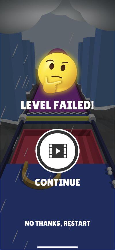 picker 3d level failed